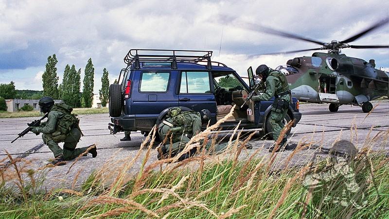 Útvar speciálních operací – Česká speciální jednotka SOG Zdroj: krugler-tacphotos.blogspot.com